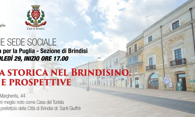 Si inaugura a Brindisi la sede della Società di Storia Patria per la Puglia
