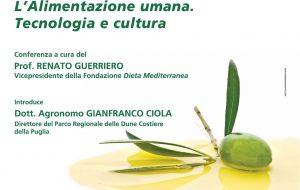 """A Mesagne il  prof. Renato Guerriero parlerà di """"Alimentazione umana. Tecnologia e cultura"""""""