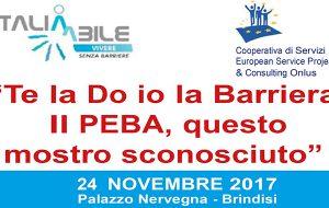 Piani Eliminazione Barriere Architettoniche: venerdì 24 interessante convegno a Palazzo Nervegna
