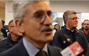"""D'Alema a Fasano: """" c'è bisogno della politica con la P maiuscola"""""""