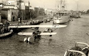 Prende forma il progetto per la realizzazione dello scalo per l'atterraggio degli idrovolanti nel porto di Brindisi