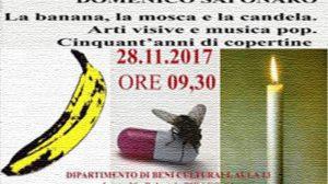 Arte contemporanea e musica pop con Domenico Saponaro all'Università del Salento
