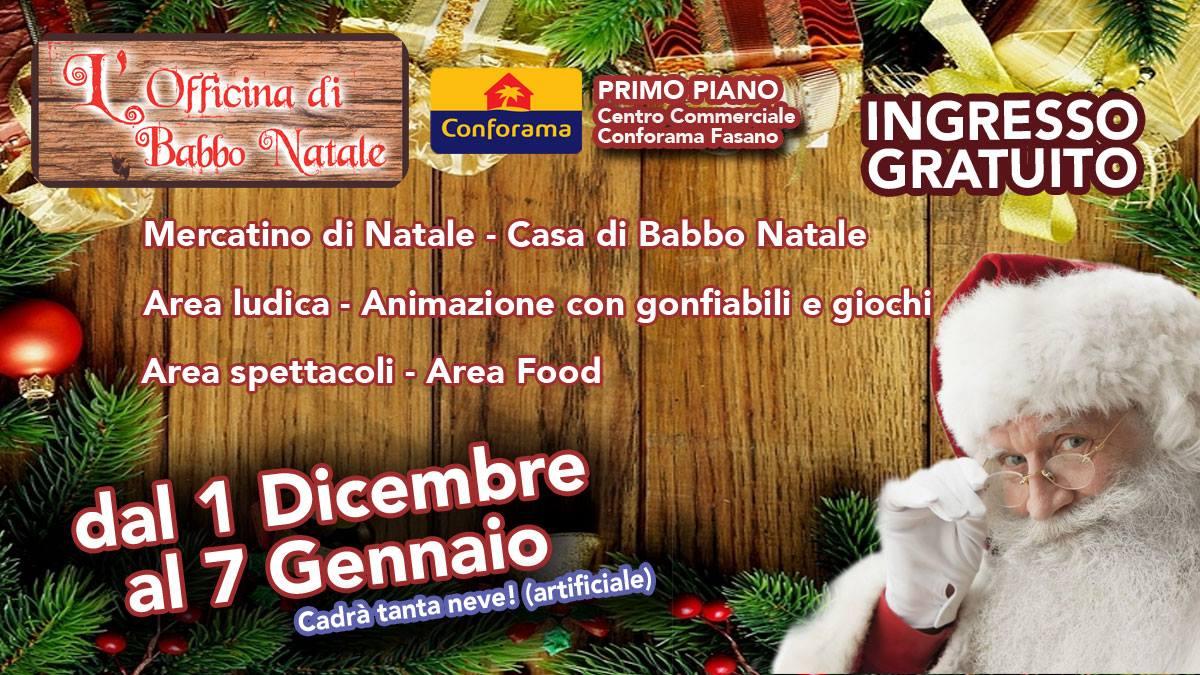 Casetta Di Natale Gonfiabile : Dal dicembre al gennaio apre a fasano u cl officina di babbo