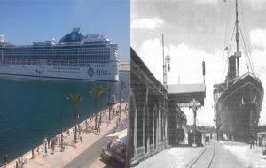 Il porto: com'era, com'è. Di Guido Giampietro