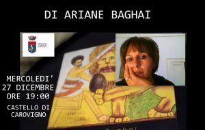"""Ariane Baghai presenta """"Il Leone Impagliato"""" nel Castello di Carovigno"""
