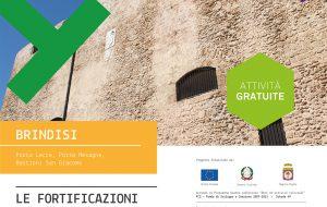 Brindisi, le fortificazioni in un click! Nel periodo natalizio gli eventi imperdibili organizzati dal SAC – La Via Traiana