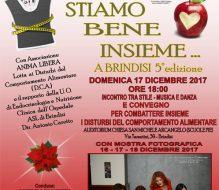 """""""Stiamo bene insieme… a Brindisi"""": domenica convegno sui disturbi del comportamento alimentare"""