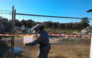 Sequestrata discarica abusiva nelle campagne di San Vito
