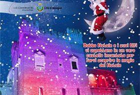 Dal 20 dicembre a Mesagne c'è il Castello incantato di Babbo Natale