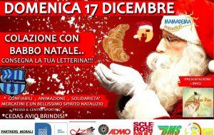 """Cedas Avio Brindisi: domenica dalle 10.00 """"Colazione con Babbo Natale"""""""