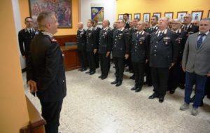 """Il Gen. Cataldo, comandante della Legione """"Puglia"""", visita il Comando Provinciale Carabinieri di Brindisi"""