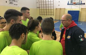 Lezioni di basket al Liceo scientifico ad indirizzo sportivo