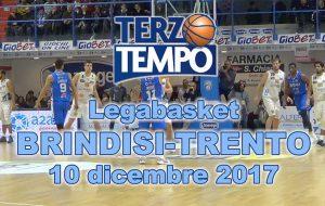 Terzo tempo web: il video ed i commenti di Brindisi-Trento