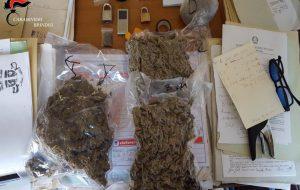 Il cane Iax fiuta 1,6 Kg. di marijuana nascosti in una borsa termica: arrestato 23enne