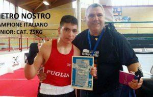Il giovane pugile brindisino Pietro Nostro convocato in nazionale