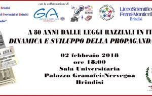 80 anni di leggi razziali in Italia: le Acli celebrano il Giorno della Memoria a Palazzo Nervegna