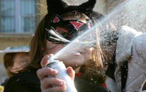 Carnevale: il Sindaco di San Michele mette al bando le bombolette schiumogene