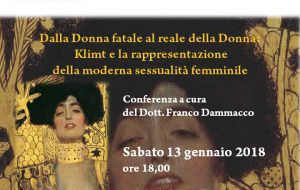 A Mesagne conferenza su Gustav Klimt nel centenario della sua scomparsa