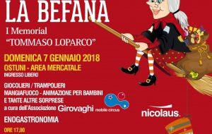 """Torna l'appuntamento con """"Viva Viva la Befana"""" organizzato dal Gruppo Folk """"Città di Ostuni"""""""