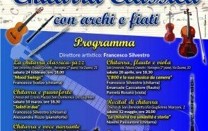 3^ Rassegna Musicale di Chitarra classica con Archi e Fiati: domani Euterpe alla Chiesa del Cristo
