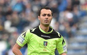 Oggi BrinAil presenta il nuovo testimonial: è l'arbitro Marco Di Bello