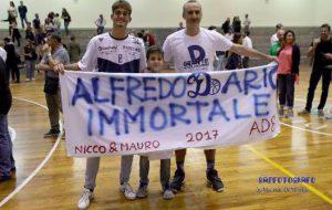 Alfredo Dario, il guerriero del parquet: quando l'età non conta!