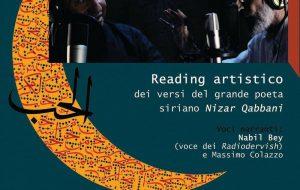 """A Mesagne il reading artistico """"Disegnare con le parole"""""""