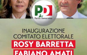 PD Brindisi: Sabato 10 Febbraio inaugurazione comitato elettorale dei candidati al Senato Rosy Barretta e Fabiano Amati