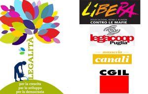 Legalità: mercoledì 14 incontro a Masseria Canali organizzato da Libera e Cgil
