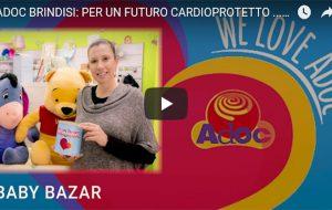 +++ VIDEO ++++ Adoc Brindisi: per un futuro cardioprotetto ci mettiamo il cuore