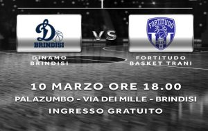 Oggi l'esordio casalingo della Dinamo Brindisi nella poule promozione per l'accesso in serie C