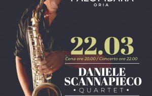 Stasera il grande Jazz di scena a Masseria Palombara con Daniele Scannapieco Quartet