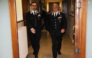 Il Comandante Interregionale Tomasone in visita al Comando Provinciale Carabinieri di Brindisi