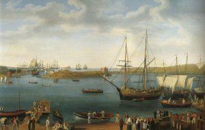 Esposte per la prima volta in città le opere del '700 di Hackert e Mayer raffiguranti il Porto di Brindisi