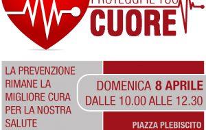 Proteggi il tuo cuore: domenica 8 ECG gratuiti in Piazza Plebiscito a Ceglie M.ca