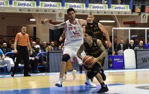 La New Basket Brindisi batte Pesaro 93-83 ed ipoteca la salvezza
