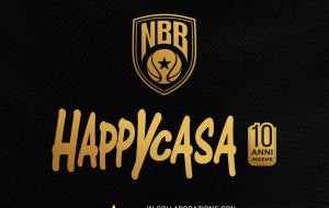 Happy Casa celebra i 10 anni: sarà match sponsor di Brindisi-Pesaro con divise gara limited edition