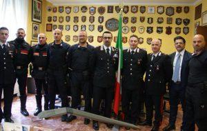 Rapina tabaccheria Via Bezzecca: premiati i carabinieri che arrestarono i giovani ladri
