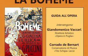 Teatro Verdi: Venerdì 20 aprile guida all'ascolto de «La Bohème»
