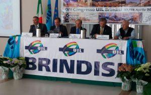 XVII Congresso UIL di Brindisi: Antonio Licchello riconfermato Segretario generale all'unanimità
