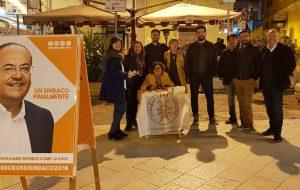 BBC nelle piazze di Brindisi a sostegno di Riccardo Rossi