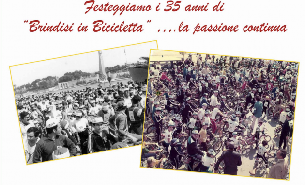 Brindisi in bicicletta: venerdì si presenta la 35^ edizione