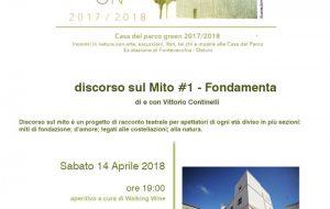 """La BCC di Ostuni ospita la pièce teatrale """"Discorso sul Mito #1 – Fondamenta"""" di e con Vittorio Continelli"""