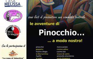 """Mesagne, gli ospiti di Villa Bianca e Casa Melissa tornano a teatro con """"Le avventure di Pinocchio…a modo nostro"""""""