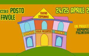 Il Piccolo Posto delle Favole: due giorni di spettacoli dentro e fuori il teatro di Ceglie Messapica