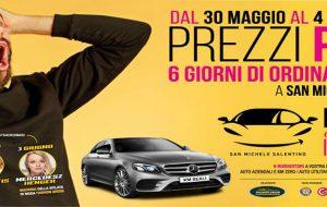 """Dal 30 Maggio la  4^ edizione della """"Fiera dell'Auto"""" di San Michele Salentino"""