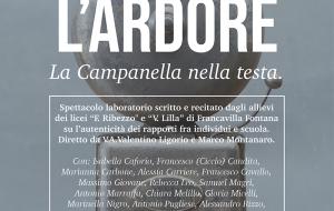 """Il 23 maggio al Teatro Italia di Francavilla """"L'Ardore"""", spettacolo-laboratorio teatrale con gli allievi di Lilla e Ribezzo"""