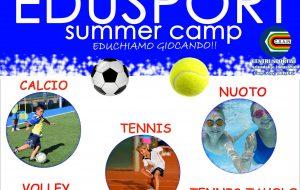 Edusport: nuoto, calcio e tennis nel Summer Camp per ragazzi dai 4 ai 12 anni