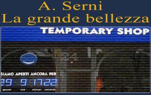A spasso nel temporary shop – reparto numero 1. Di A.Serni