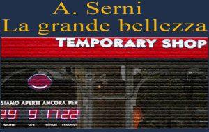 A spasso nel temporary shop – reparto numero 3. Di A.Serni